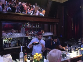 The bar opens! with Fabio and Arsim from Bovelli