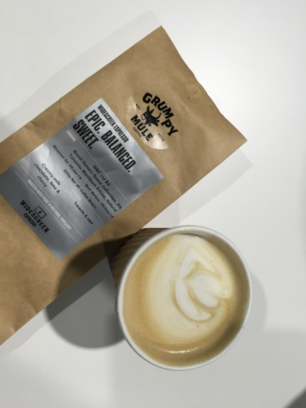 Grumpy Mule is what you are without coffee!