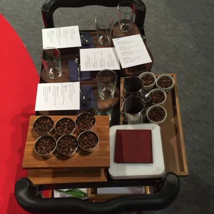 The magic coffee cart