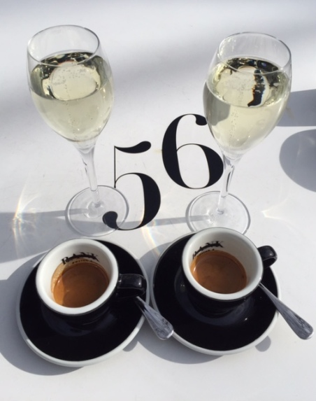 Coffee and Prosecco